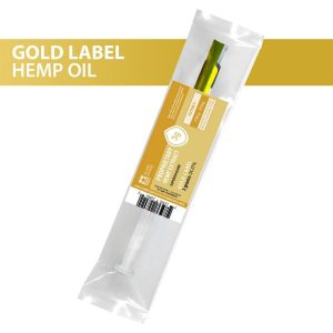 US Hemp Wholesale CBD Hemp Oil Gold Label